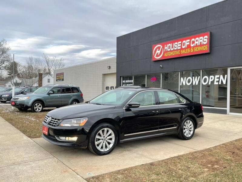 2012 Volkswagen Passat for sale at HOUSE OF CARS CT in Meriden CT
