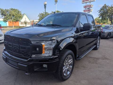 2018 Ford F-150 for sale at Convoy Motors LLC in National City CA