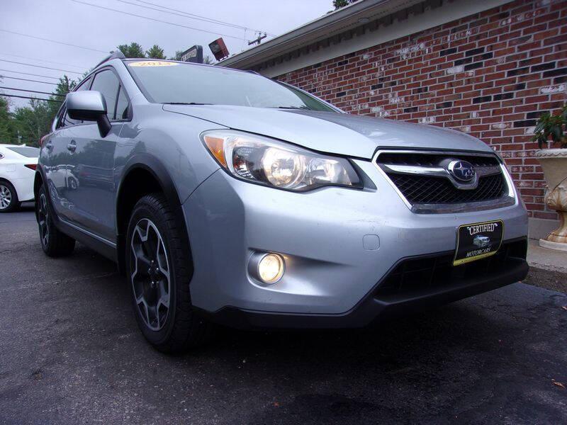 2013 Subaru XV Crosstrek for sale at Certified Motorcars LLC in Franklin NH
