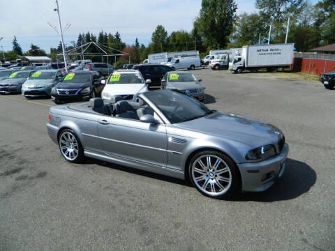 2004 BMW M3 for sale at J & R Motorsports in Lynnwood WA
