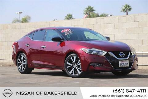 2018 Nissan Maxima for sale at Nissan of Bakersfield in Bakersfield CA