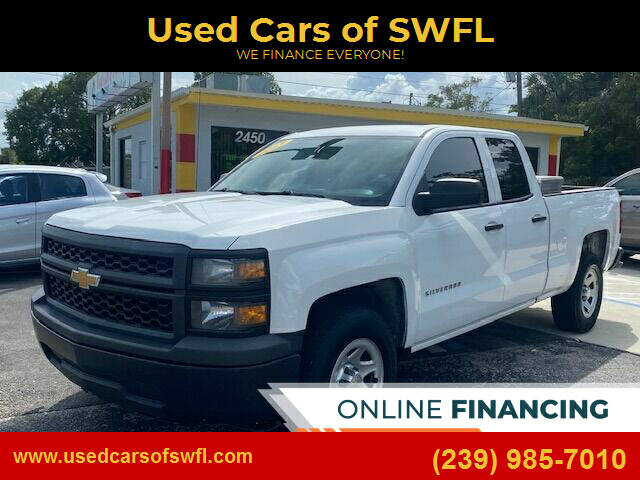 2015 Chevrolet Silverado 1500 for sale at Used Cars of SWFL in Fort Myers FL