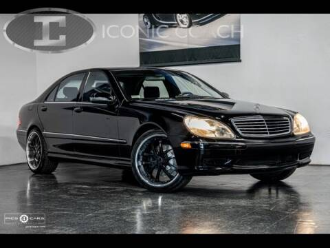 2002 Mercedes-Benz S-Class for sale at Iconic Coach in San Diego CA