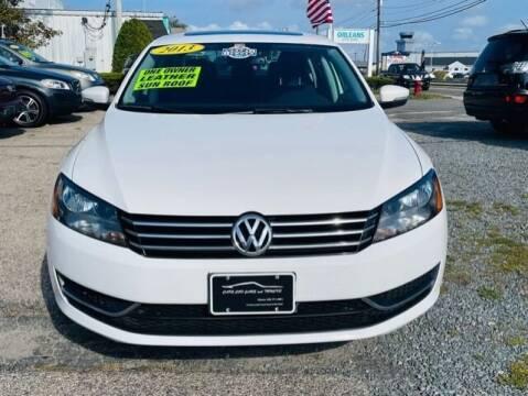 2013 Volkswagen Passat for sale at Cape Cod Cars & Trucks in Hyannis MA