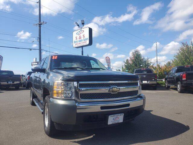2011 Chevrolet Silverado 1500 for sale at S&S Best Auto Sales LLC in Auburn WA