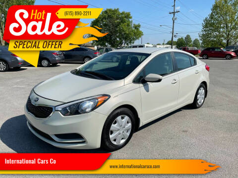 2015 Kia Forte for sale at International Cars Co in Murfreesboro TN