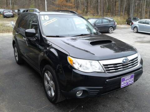 2010 Subaru Forester for sale at Quest Auto Outlet in Chichester NH