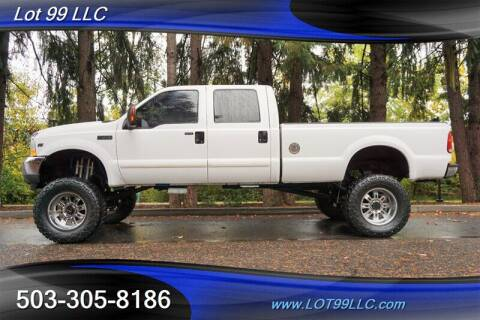 2004 Ford F-250 Super Duty for sale at LOT 99 LLC in Milwaukie OR