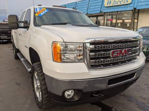 2013 GMC Sierra 2500HD for sale at GREAT DEALS ON WHEELS in Michigan City IN
