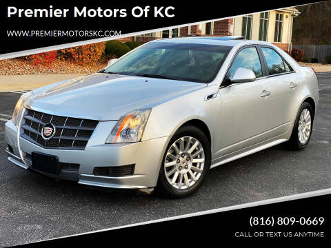 2011 Cadillac CTS for sale at Premier Motors of KC in Kansas City MO