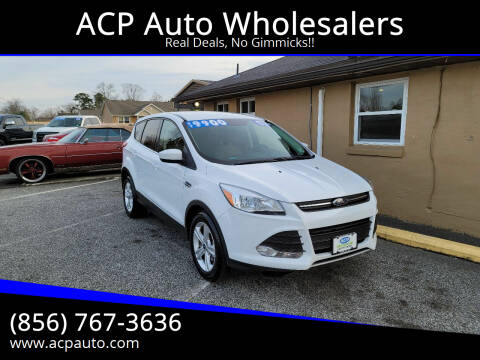 2016 Ford Escape for sale at ACP Auto Wholesalers in Berlin NJ