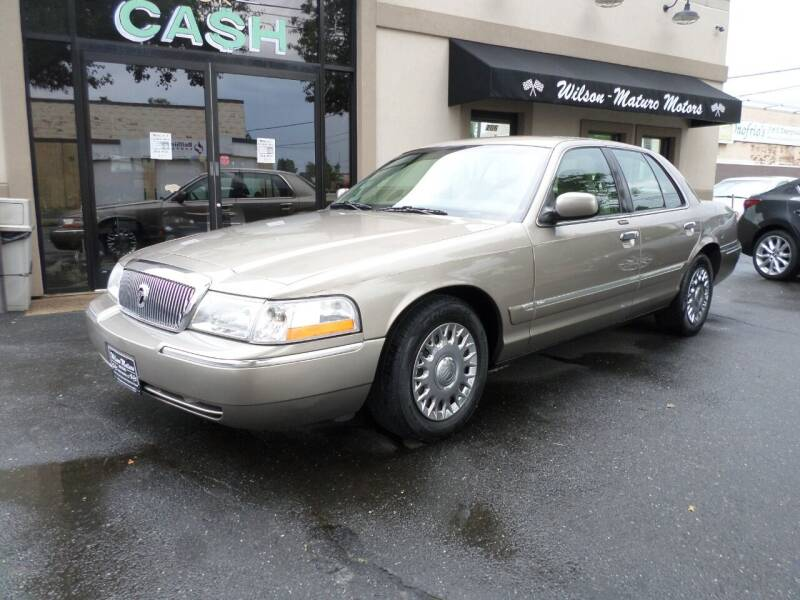 2003 Mercury Grand Marquis for sale at Wilson-Maturo Motors in New Haven Ct CT