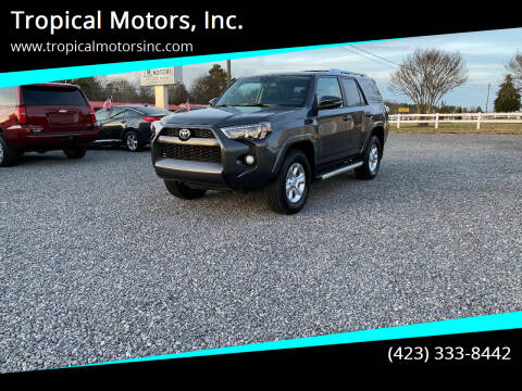 2016 Toyota 4Runner for sale at Tropical Motors, Inc. in Riceville TN