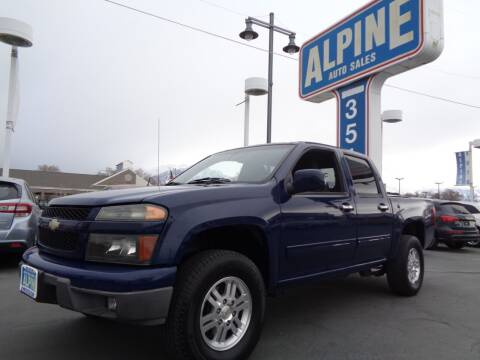 2010 Chevrolet Colorado for sale at Alpine Auto Sales in Salt Lake City UT