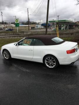 2014 Audi A5 for sale at David Hammons Classic Cars in Crab Orchard KY