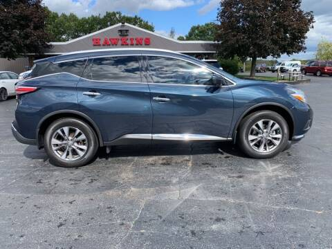 2017 Nissan Murano for sale at Hawkins Motors Sales in Hillsdale MI