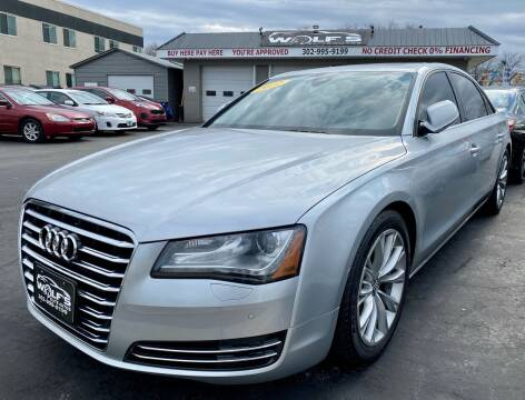 2012 Audi A8 L for sale at WOLF'S ELITE AUTOS in Wilmington DE