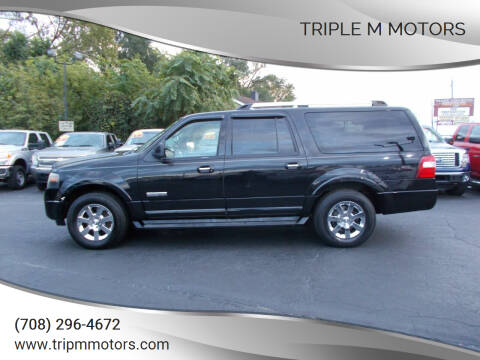 2008 Ford Expedition EL for sale at Triple M Motors in Saint John IN