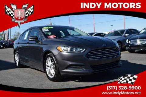 2016 Ford Fusion for sale at Indy Motors Inc in Indianapolis IN