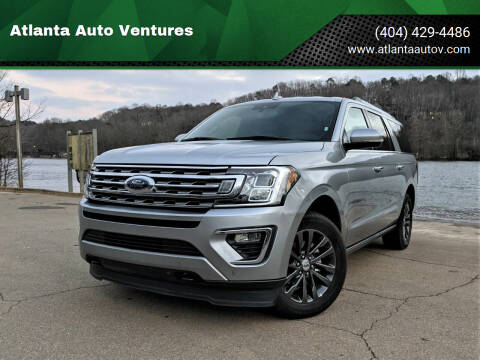 2020 Ford Expedition MAX for sale at Atlanta Auto Ventures in Roswell GA