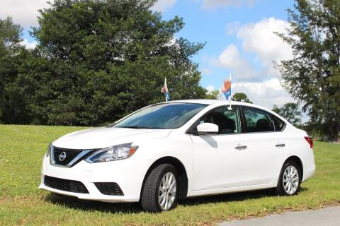 2018 Nissan Sentra for sale at CHASE MOTOR in Miami FL