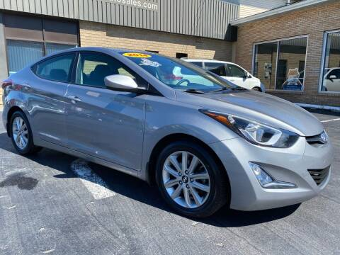 2014 Hyundai Elantra for sale at C Pizzano Auto Sales in Wyoming PA