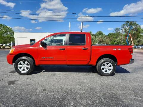 2010 Nissan Titan for sale at G AND J MOTORS in Elkin NC