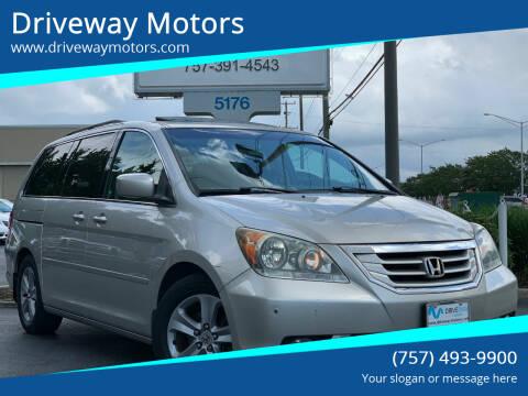 2008 Honda Odyssey for sale at Driveway Motors in Virginia Beach VA