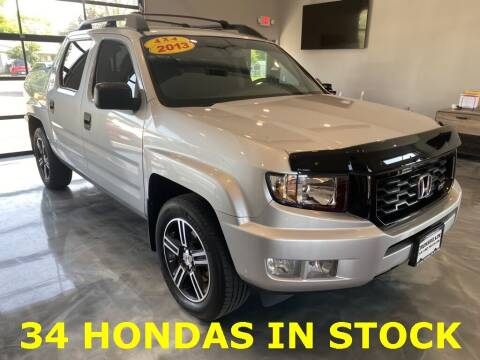 2013 Honda Ridgeline for sale at Crossroads Car & Truck in Milford OH