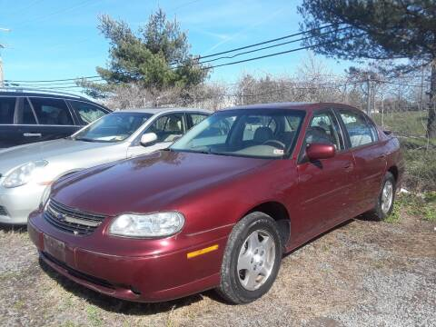 2003 Chevrolet Malibu for sale at M & M Auto Brokers in Chantilly VA