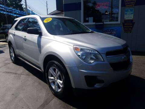2011 Chevrolet Equinox for sale at Fleetwing Auto Sales in Erie PA