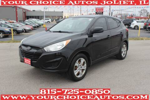 2010 Hyundai Tucson for sale at Your Choice Autos - Joliet in Joliet IL