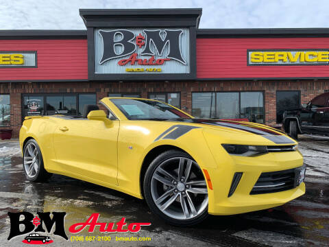 2017 Chevrolet Camaro for sale at B & M Auto Sales Inc. in Oak Forest IL
