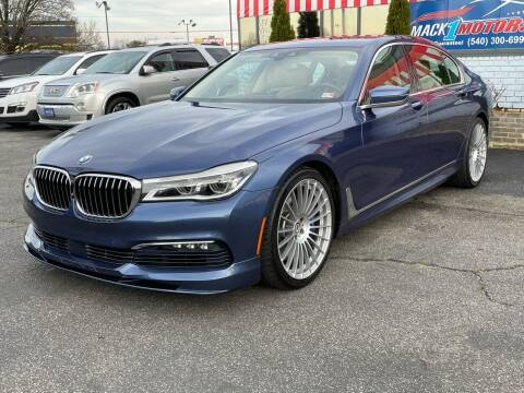 2017 BMW 7 Series for sale at Mack 1 Motors in Fredericksburg VA