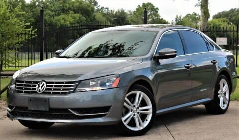 2015 Volkswagen Passat for sale at Texas Auto Corporation in Houston TX