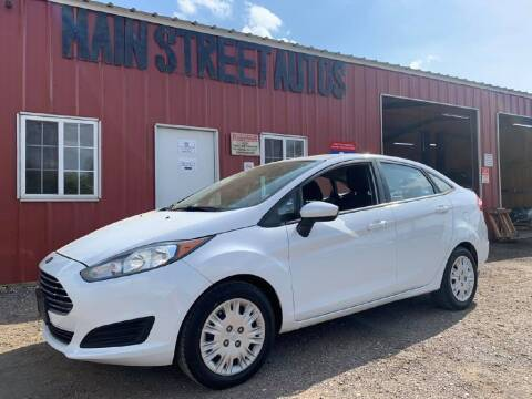 2015 Ford Fiesta for sale at Main Street Autos Sales and Service LLC in Whitehouse TX