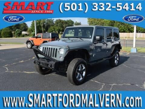 2015 Jeep Wrangler Unlimited for sale at Smart Auto Sales of Benton in Benton AR