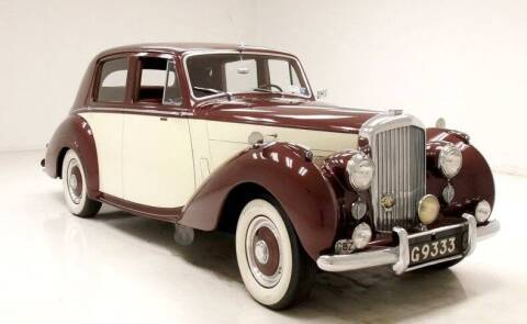 1953 Bentley R-Type Left-Hand-Drive for sale at Gullwing Motor Cars Inc in Astoria NY
