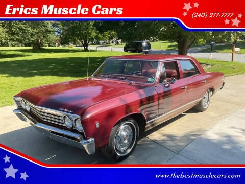 1967 Chevrolet Chevelle Malibu for sale at Erics Muscle Cars in Clarksburg MD