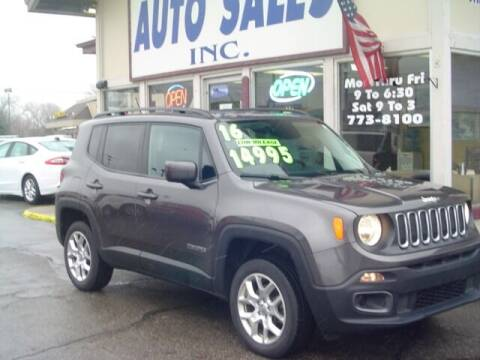 2016 Jeep Renegade for sale at G & L Auto Sales Inc in Roseville MI