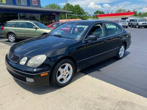1998 Lexus GS 400 for sale at Wise Investments Auto Sales in Sellersburg IN