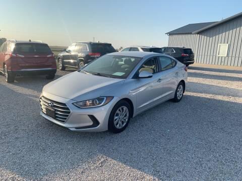 2017 Hyundai Elantra for sale at Burtle Motors in Auburn IL