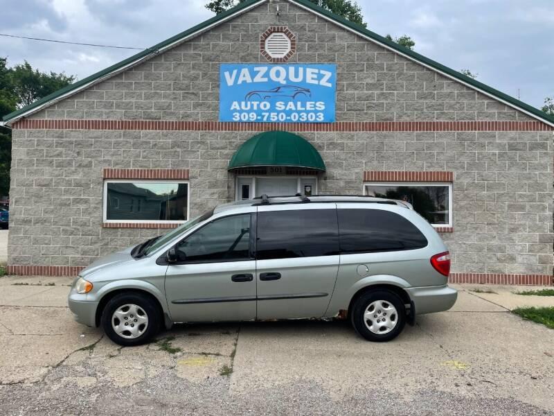 2003 Dodge Grand Caravan for sale at VAZQUEZ AUTO SALES in Bloomington IL