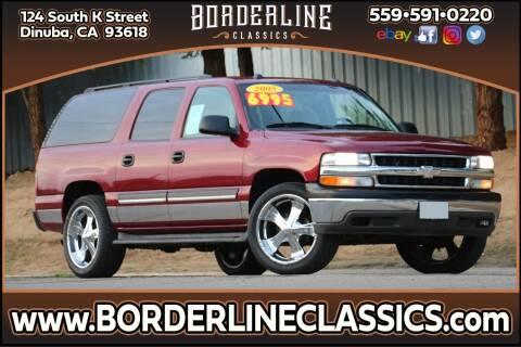 2005 Chevrolet Suburban for sale at Borderline Classics in Dinuba CA