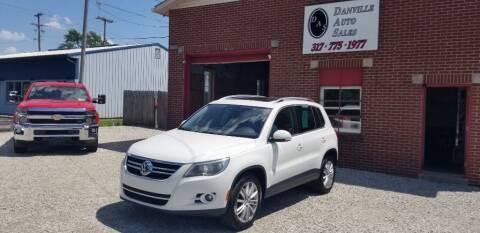 2009 Volkswagen Tiguan for sale at DANVILLE AUTO SALES in Danville IN