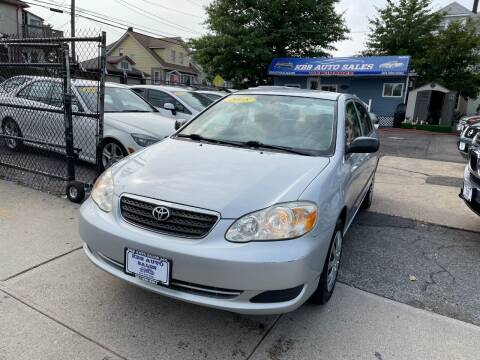 2008 Toyota Corolla for sale at KBB Auto Sales in North Bergen NJ