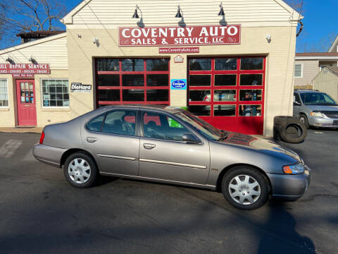 2001 Nissan Altima for sale at COVENTRY AUTO SALES in Coventry CT