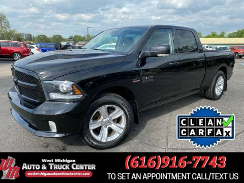 2014 RAM Ram Pickup 1500 for sale at West Michigan Auto and Truck Center in Cedar Springs MI