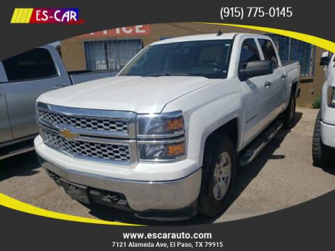 2014 Chevrolet Silverado 1500 for sale at Escar Auto in El Paso TX