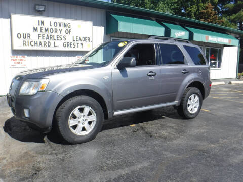 2009 Mercury Mariner for sale at GRESTY AUTO SALES in Loves Park IL